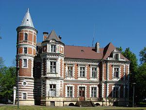 Brzezie, Kuyavian-Pomeranian Voivodeship - The Kronenberg Palace, built 1873.