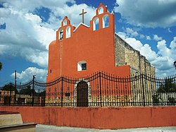 Principal Church of Buctzotz, Yucatán