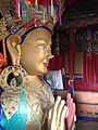Buddh Relic at Thiksey Monastery.jpg