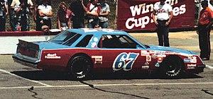 Dodge Mirada - Image: Buddy Arrington 67racecar 1983