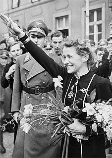 Hanna Reitsch German aviator and test pilot