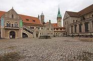 Burg Dankwarderode am Burgplatz in Braunschweig IMG 2756
