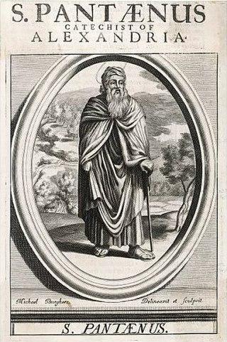 Pantaenus Greek Christian theologian (died c.200)
