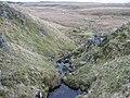 Burn on hillside below Tomtain - geograph.org.uk - 758453.jpg