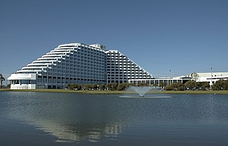 Crown Perth - Crown Metropol which opened as the Burswood Island Hotel in 1987