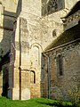 Bury (60), église Saint-Lucien, quatrième travée de la nef, côté sud-ouest, vestige du transept roman.jpg