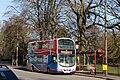 Bus on Prince's Avenue, Roundhay (30th January 2010).jpg