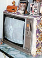 Bush brand Television set in India manufactured in 1984.jpg