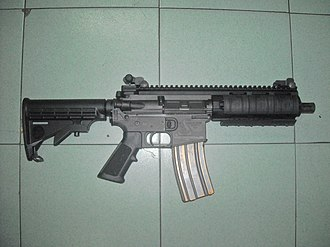 Bushmaster Firearms International - Image: Bushmaster Carbon 15 SBR