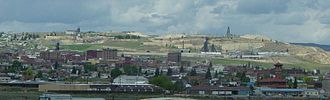 Butte–Anaconda Historic District - General view of Butte, 2003