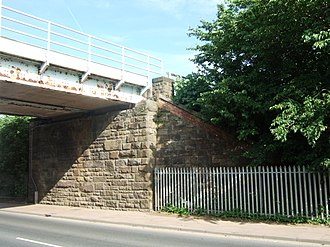 Liverpool, Southport and Preston Junction Railway - Site of Butts Lane Halt