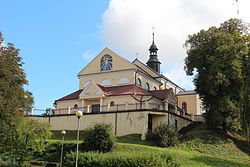 Bychawa, Zespół Kościoła par. p.w. św. Jana Chrzciciela.JPG