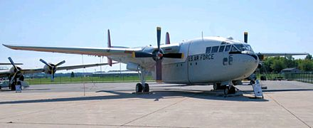 A former Canadian C-119G at the Air Mobility Command Museum. - Fairchild C-119 Flying Boxcar