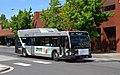 C-Tran Gillig low-floor hybrid bus on Washington St in downtown (2017).jpg