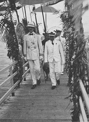 Bonifacius Cornelis de Jonge - B.C. de Jonge arriving in Bali in the 1930s.