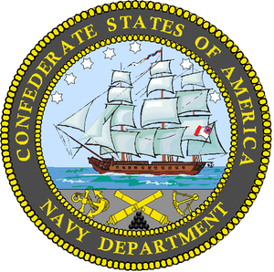 Confederate States Department of the Navy - Image: CS Navy Department Seal