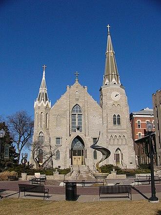 Association of Jesuit Colleges and Universities - Image: CU St Johns exterior main entrance