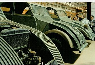 Pierre-Jules Boulanger - Pre-1939 prototypes for 2CV.