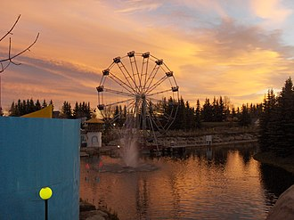 Calaway Park - View of Calaway Park in 2006. The park saw the addition of several new attractions for the park's 25th anniversary.