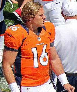 Caleb Hanie American football quarterback