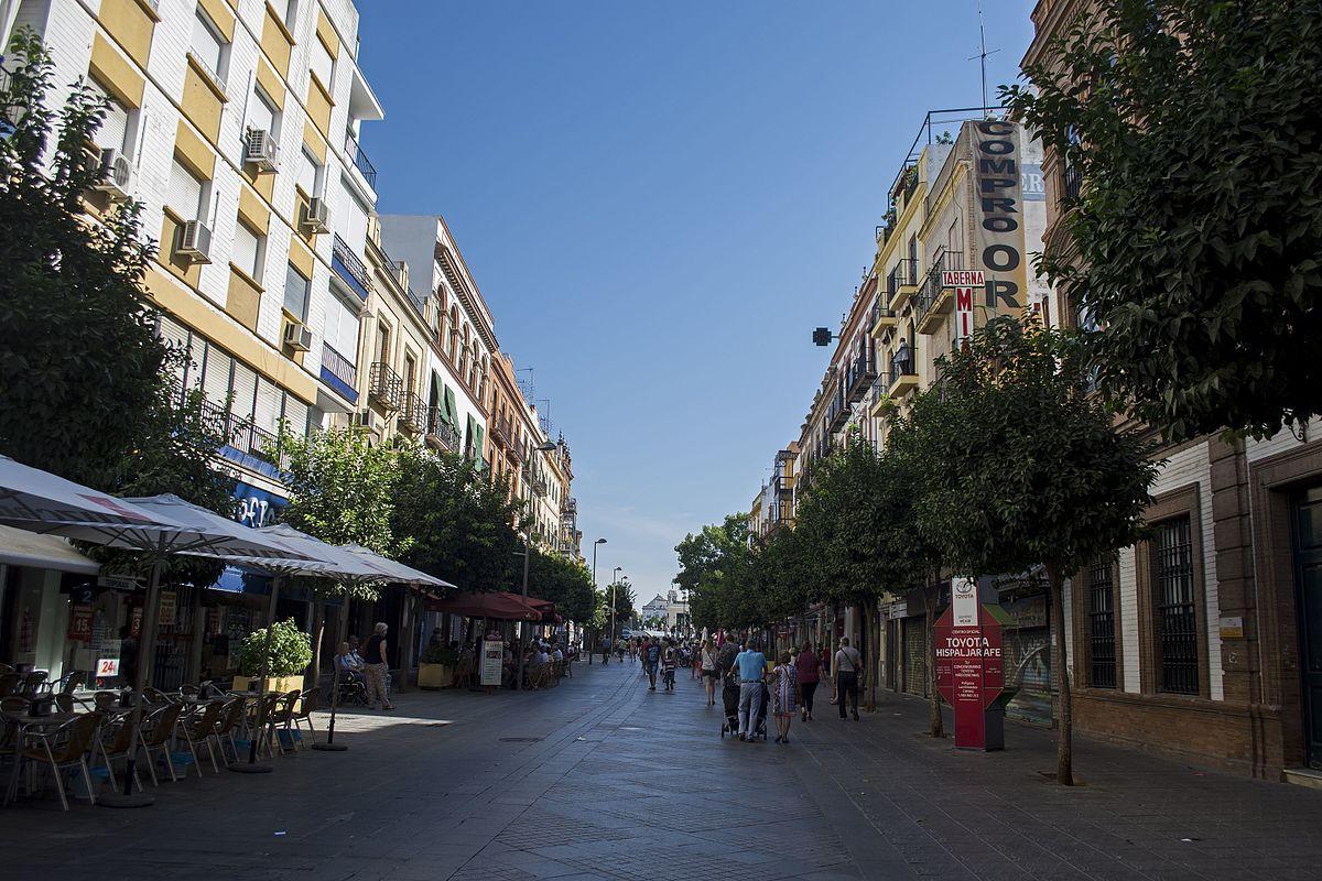 Calle san jacinto sevilla wikipedia la enciclopedia libre - Calle correduria sevilla ...