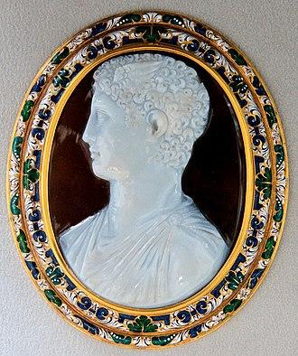 Hermes - Sardonyx cameo of a Ptolemaic prince as Hermes, Cabinet des médailles, Paris