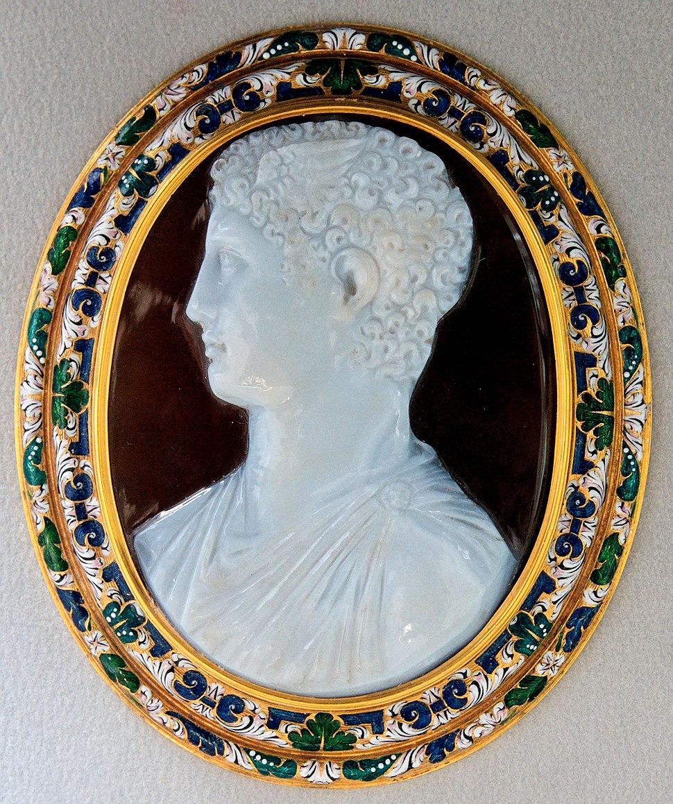Cameo Ptolemaic prince Bab111 CdM Paris