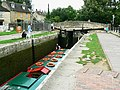 Canal boat on the way down the Kennet and Avon canal (9) - geograph.org.uk - 1443405.jpg