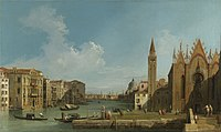 Canaletto (Venice 1697-Venice 1768) - The Grand Canal looking East from the Carità towards the Bacino - RCIN 400523 - Royal Collection.jpg