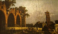 Canaletto - The Basilica of Maxentius and the Church of Santa Francesca Romana.jpg