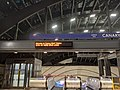 Canary Wharf Tube Station on 10 April 2020 at 2055 1.jpg