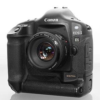 Canon EOS-1Ds Digital single-lens reflex camera made by Canon