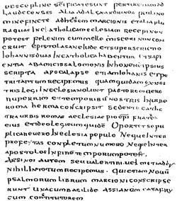 Nye testamente manuskripter dating