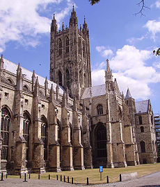A-of Canterbury Cathedral Canterbury Cathedral - Simple English Wikipedia, the free encyclopedia