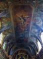 Capela do Paço da Bemposta - Capela do Santíssimo Sacramento, Tecto.png
