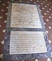 Cappella della compagnia di s. luca, vestibolo, lapidi nel pavimento.JPG