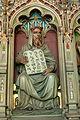 Cardiff Castle - Bibliothek Allegorien Literatur 2 Aramäisch.jpg