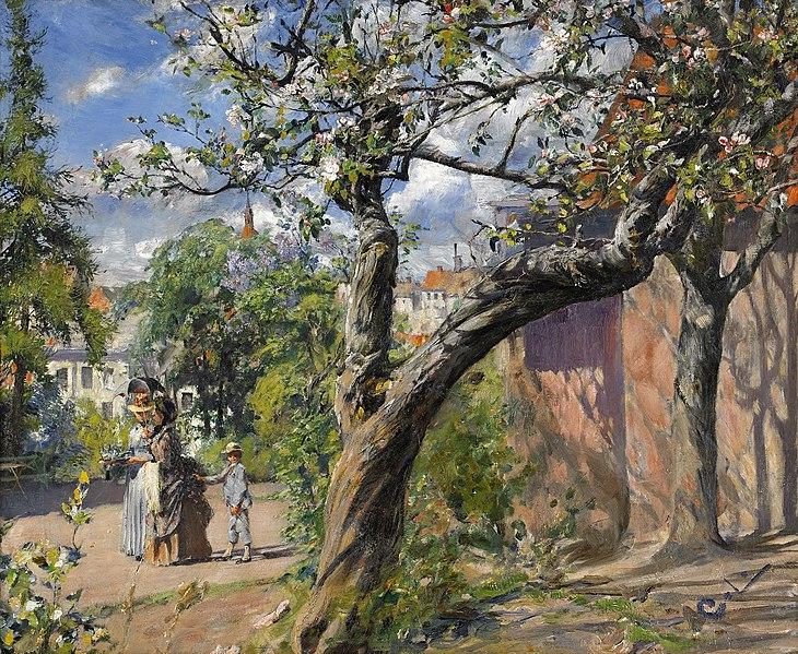 File:Carl Larsson - Främmande II 1886-1889.jpg