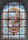 Carnac Vitrail de l' Eglise St Cornely.jpg