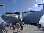 Carnival Conquest and Allure of the Seas (31948508755).jpg