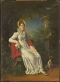 Caroline of Naples in the Bois de Boulogne in 1837 by François Gérard.png