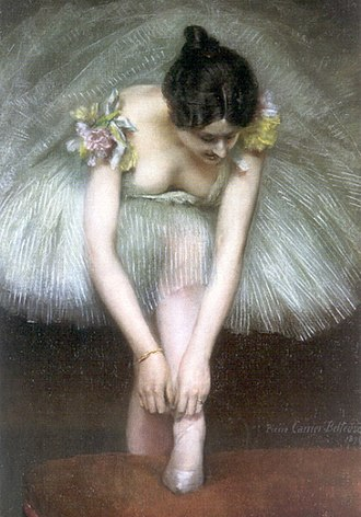 Pierre Carrier-Belleuse - Image: Carrier Belleuse Pierre Before the Ballet 1896
