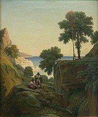 Vue prise à Amalfi, dans le golfe de Salerne