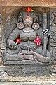 Carvings at Parsurameswar Temple, Bhubaneswar 03.jpg