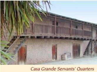 Sonoma State Historic Park - Casa Grande Servants' Quarters