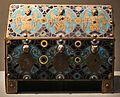 Cassetta-reliquiario con smalti champlevé, limoges, XIII secolo 02.jpg
