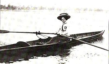 Single-sculler Cassie McRichie, founder of the...