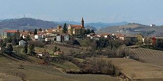 Castel Rocchero - Image: Castel Rocchero da Alice Bel Colle