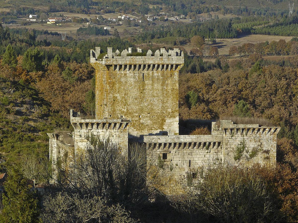 Resultado de imagen de castelos medievais de Galicia