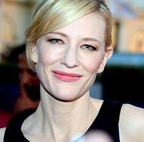 A photograph of Cate Blanchett attending the Deauville Film Festival